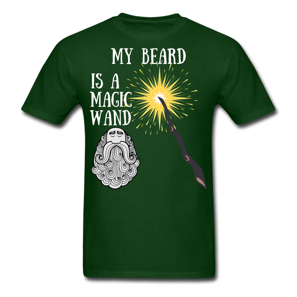 My Beard is A Magic Wand T Shirt - bearded-money