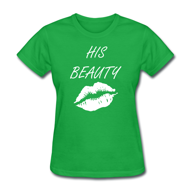 His Beauty T-Shirt - BeardedMoney