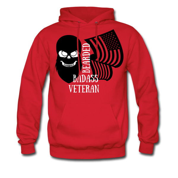 Bearded Badass Veteran Hoodie - BeardedMoney