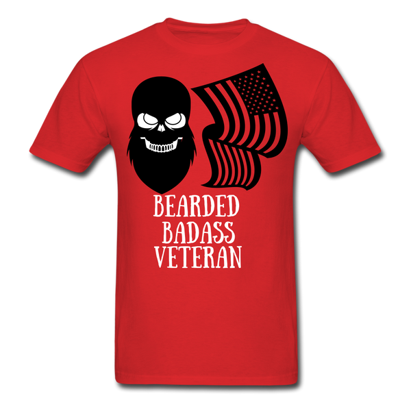 Bearded Badass Veteran T-Shirt - BeardedMoney