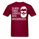 Beards Turns Laziness Into T-Shirt - bearded-money