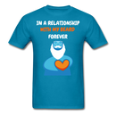 In Relationship With My Beard T-Shirt - bearded-money