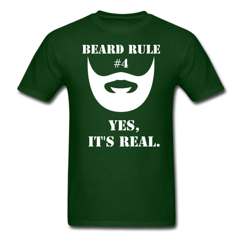 Beard Rule #4 T-Shirt - bearded-money