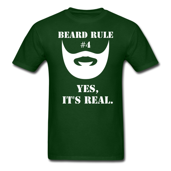 Beard Rule #4 T-Shirt - BeardedMoney