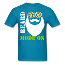Beard Mode On T-Shirt - bearded-money