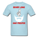 Beard Long And Prosper T-Shirt - BeardedMoney