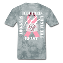 Beard Beast Support The Fight T-Shirt - BeardedMoney