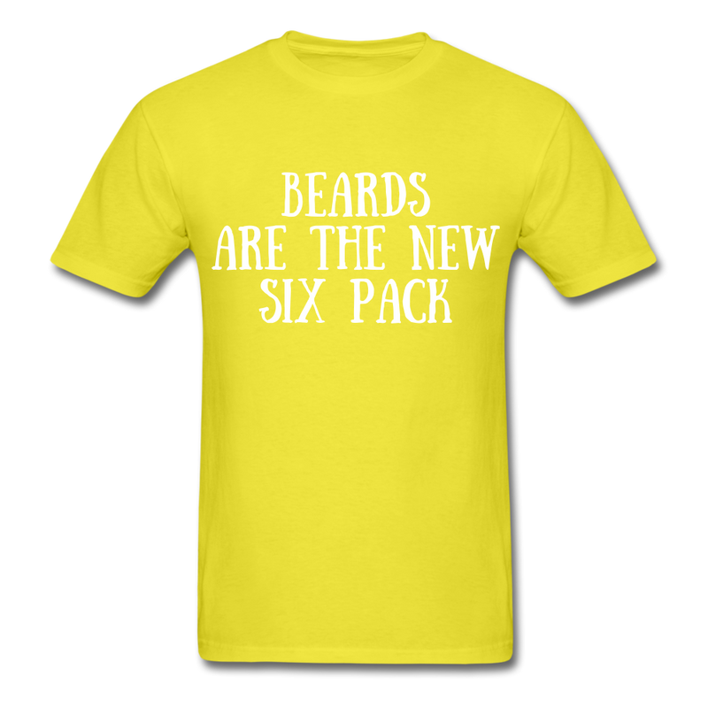 New Six Pack T-Shirt - BeardedMoney