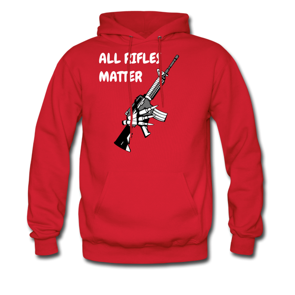 All Rifles Matter Hoodie - BeardedMoney