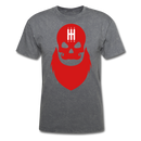 Stick Shift Bearded Skull T-Shirt - bearded-money