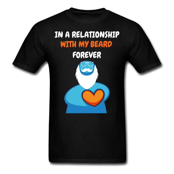 In Relationship With My Beard T-Shirt - BeardedMoney