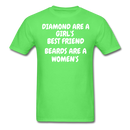 Diamond Are a Girl's T-Shirt - bearded-money