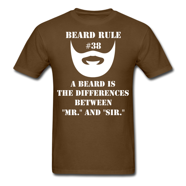Beard Rule #38 T-Shirt - BeardedMoney