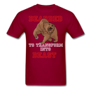 Bearded To Transform T-Shirt - BeardedMoney