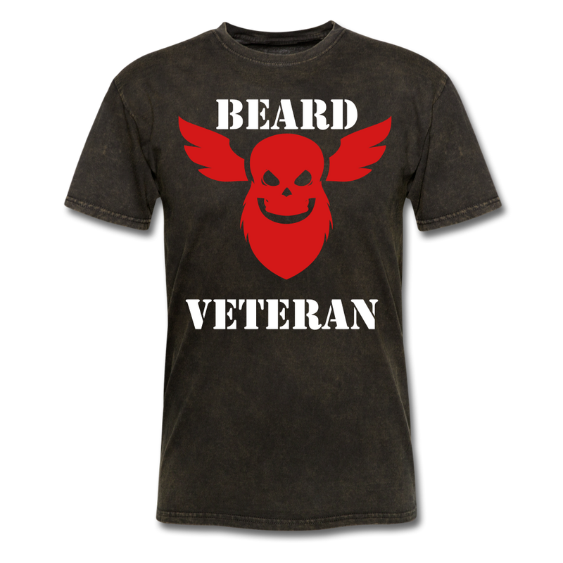 Beard Veteran T-Shirt - BeardedMoney