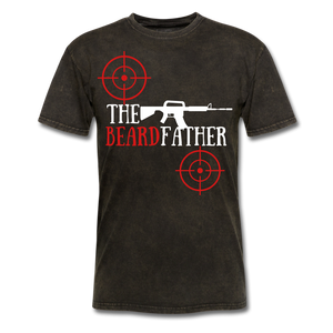 The BeardFather T-Shirt - bearded-money