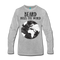 Beard Rules Long Sleeve T-Shirt - BeardedMoney