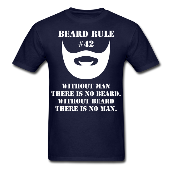 Beard Rule #42 T-Shirt - BeardedMoney