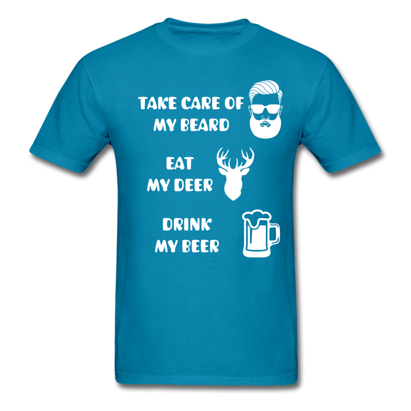 Take Care Of My Beard T-Shirt - bearded-money