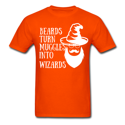 Beards Turn Muggles Into Wizards T-Shirt - bearded-money