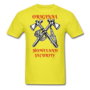 Original Homeland Security  Men's T-Shirt - BeardedMoney