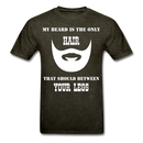 My Beard Is The Only Hair T-Shirt - BeardedMoney