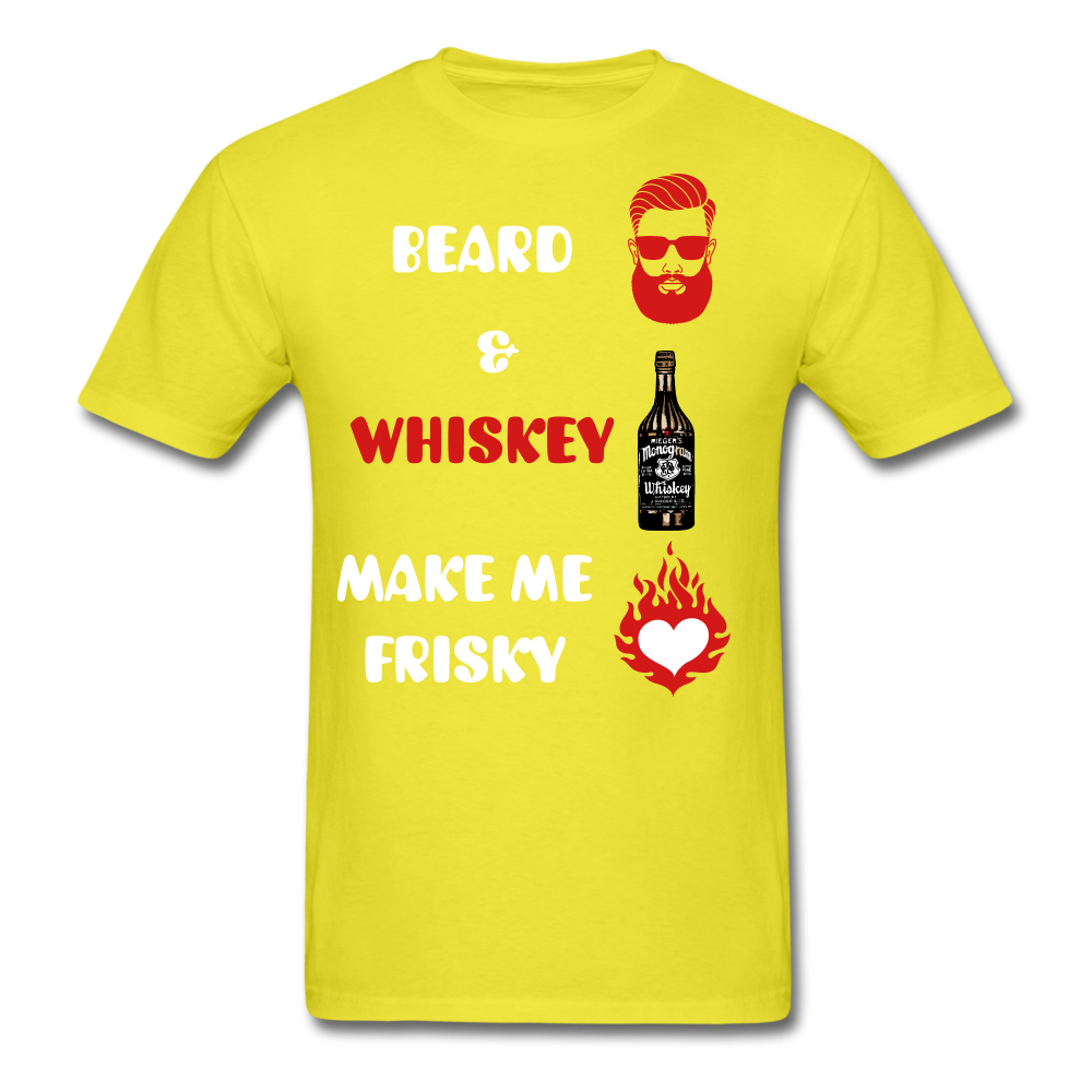 Beard & Whiskey T-Shirt - bearded-money