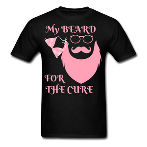 My Beard For The Cure Men's T-Shirt - bearded-money