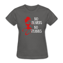 No Beards No Thanks T-Shirt - bearded-money