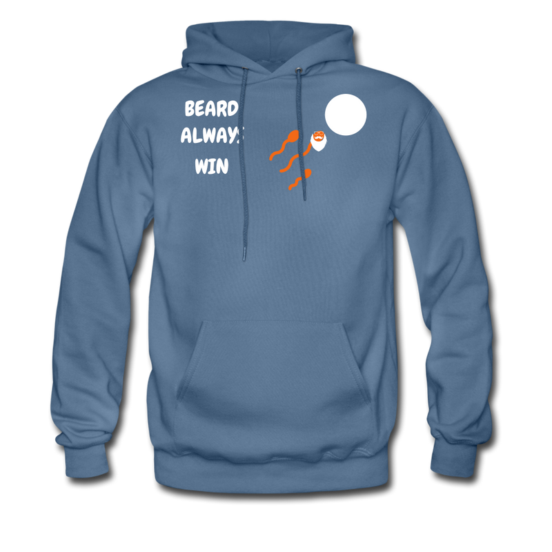 Beard Always Win Men's Hoodie - BeardedMoney