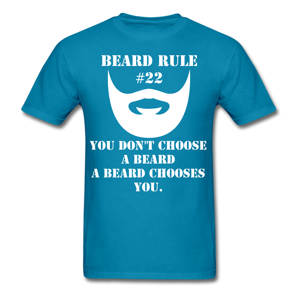 Beard Rule #22 T-Shirt - bearded-money