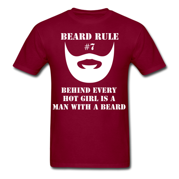 Beard Rule #7 T-Shirt - BeardedMoney