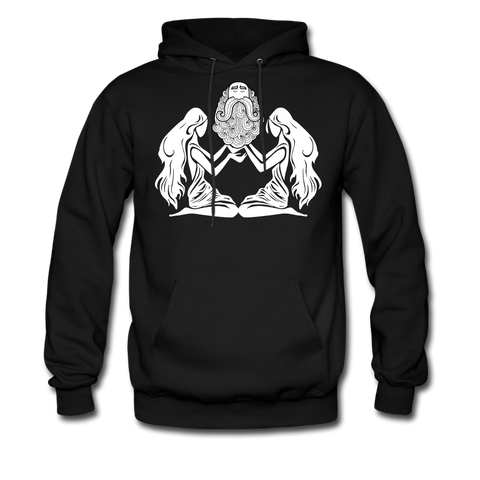 Threesome Hoodie - bearded-money