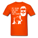 My Beard Can Kill Bears .. Can Yours? T-Shirt - BeardedMoney