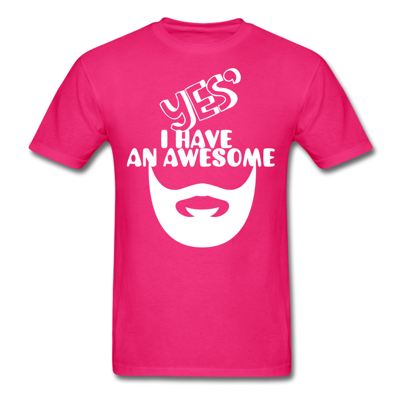 Yes, I Have An Awesome Beard Men's T-Shirt - BeardedMoney