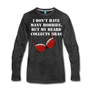 Collects Bras Premium Long Sleeve T-Shirt - bearded-money