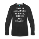 Measured by Beards Premium Long Sleeve T-Shirt - bearded-money