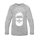 Extremely Busy with my Beard Long Sleeve T-Shirt - BeardedMoney