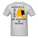 Without A Beard My Identity Is Erased T-Shirt - bearded-money