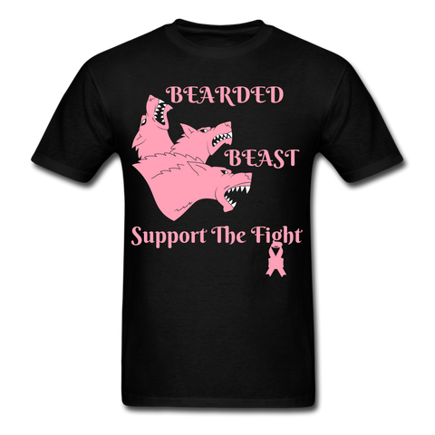 Bearded Beast Support the Fight Men's T-Shirt - bearded-money