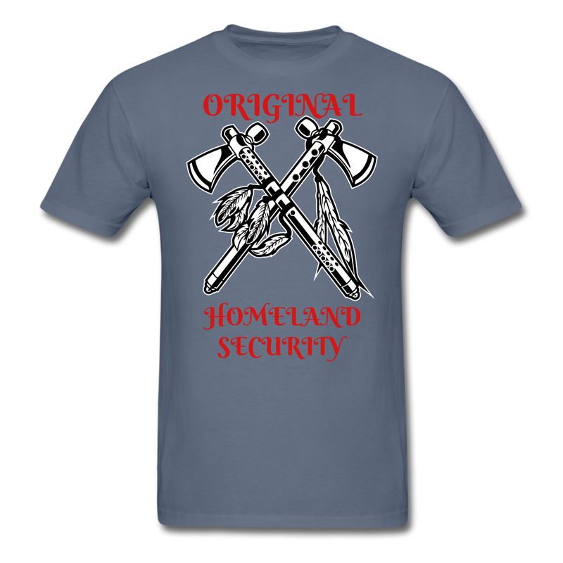 Original Homeland Security  Men's T-Shirt - bearded-money