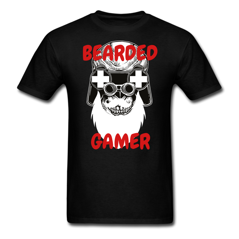 Bearded Gamer T-Shirt - BeardedMoney
