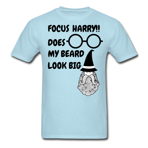Focus Harry!! T-Shirt - bearded-money