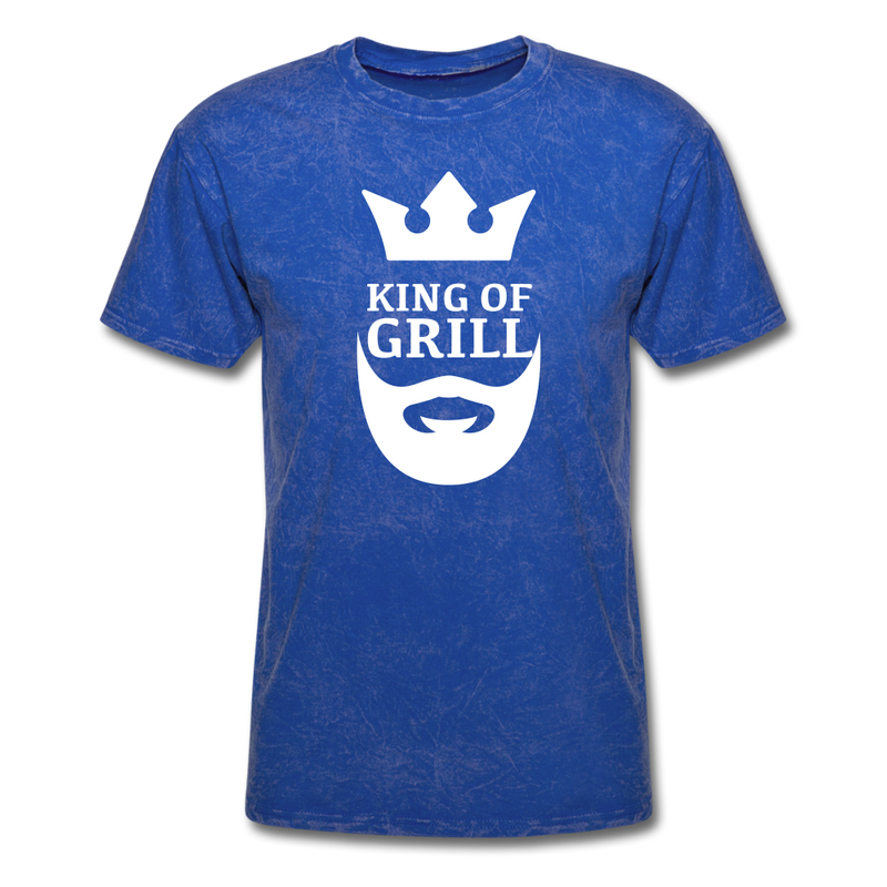 King Of The Grill T-Shirt - bearded-money