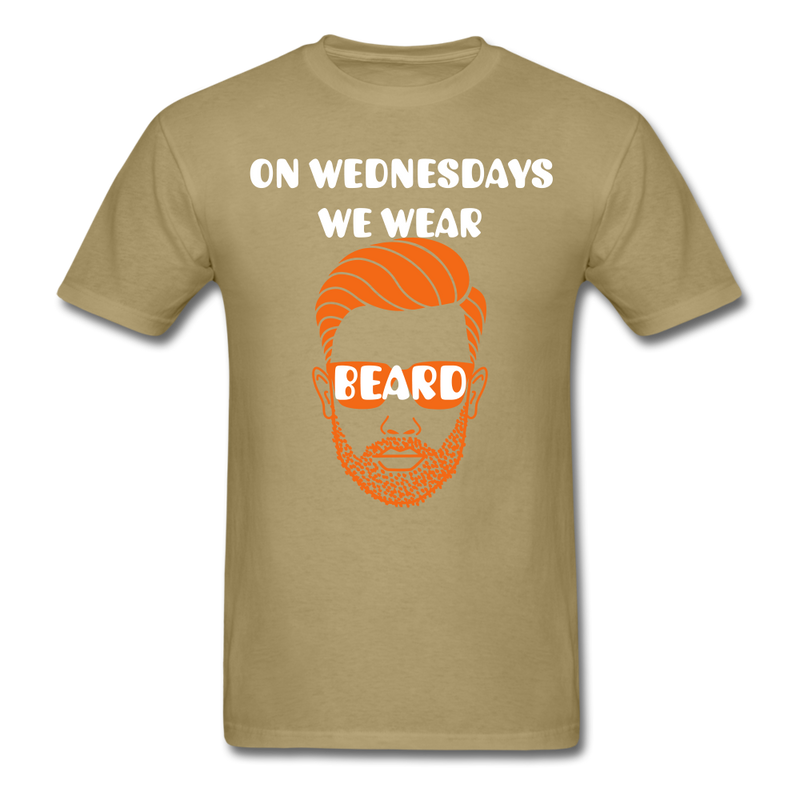 On Wednesday We Wear Beard T-Shirt - bearded-money