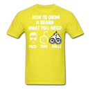 How To Grow A Beard What You Need T-Shirt - bearded-money