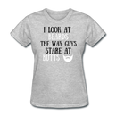 I Look at Beards T-Shirt - bearded-money
