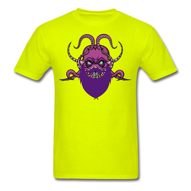 Bearded Octopus T-Shirt - bearded-money
