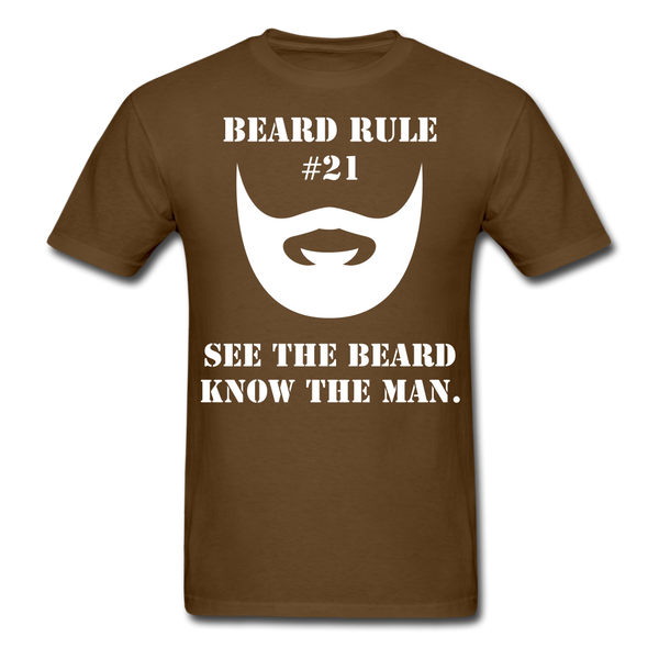 Beard Rule #21T-Shirt - BeardedMoney