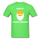 Wake Up & Beard Awesome (Sun) T-Shirt - BeardedMoney